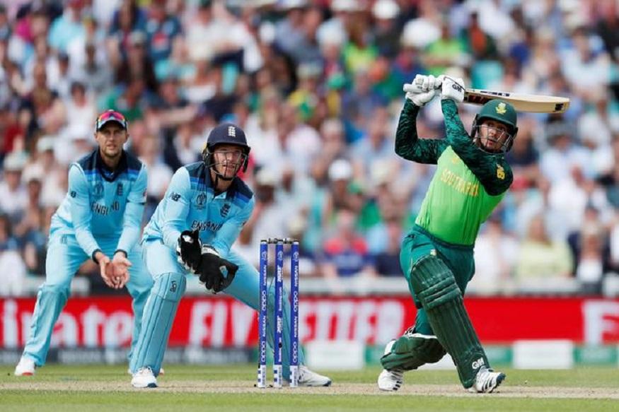 England vs South Africa : अरे काय चालयं काय, चेंडू स्टम्पला लागला तरी फलंदाज नाबाद