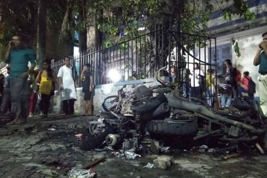 पश्चिम बंगालमध्ये मतदानाच्या सातव्या टप्प्यातही हिंसाचाराचं गोलबोट
