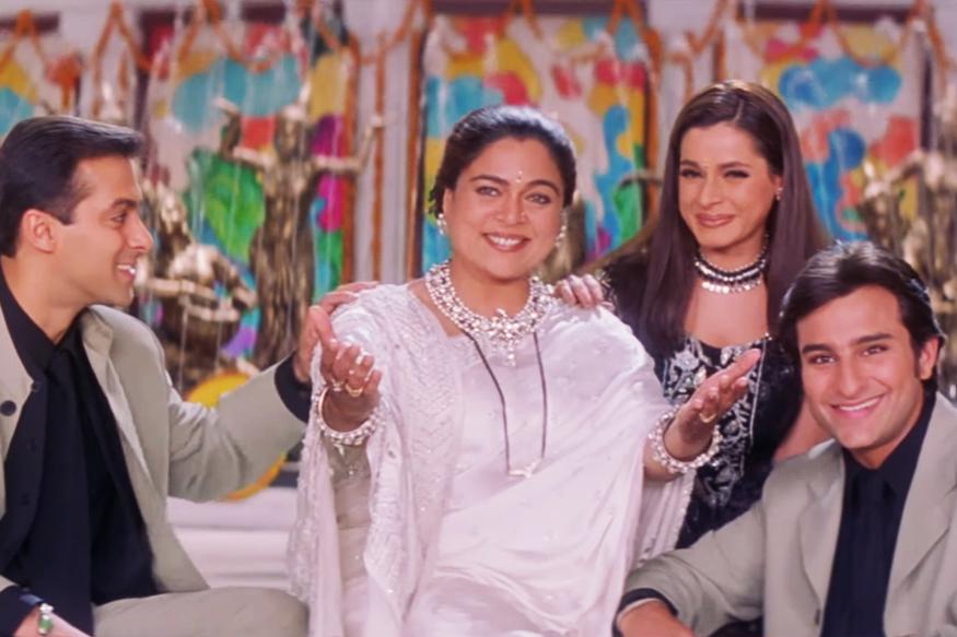 रिमा लागू यांनी सलमानसोबत अनेक सिनेमांत काम केलं. हम साथ साथ है, साजन, मैंने प्यार किया, कुछ कुछ होता है आणि जुडवा या हिट सिनेमांत काम केलं. रिमा यांनी सलमानच्या आईचीच भूमिका साकारली. २०१७ मध्ये रिमा यांचं निधन झालं.