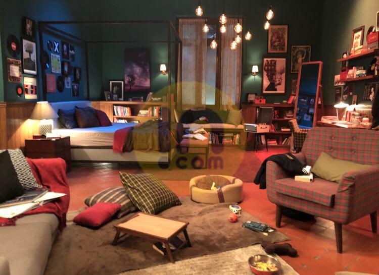या सिनेमातील अनन्या पांडेची बेडरूम