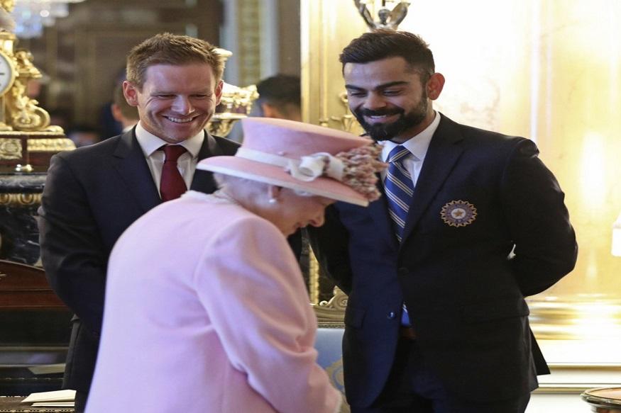 विश्वचषकाच्या पूर्वसंध्येला भारताचा कर्णधार विराट कोहली क्विनला भेटतो तेव्हा...