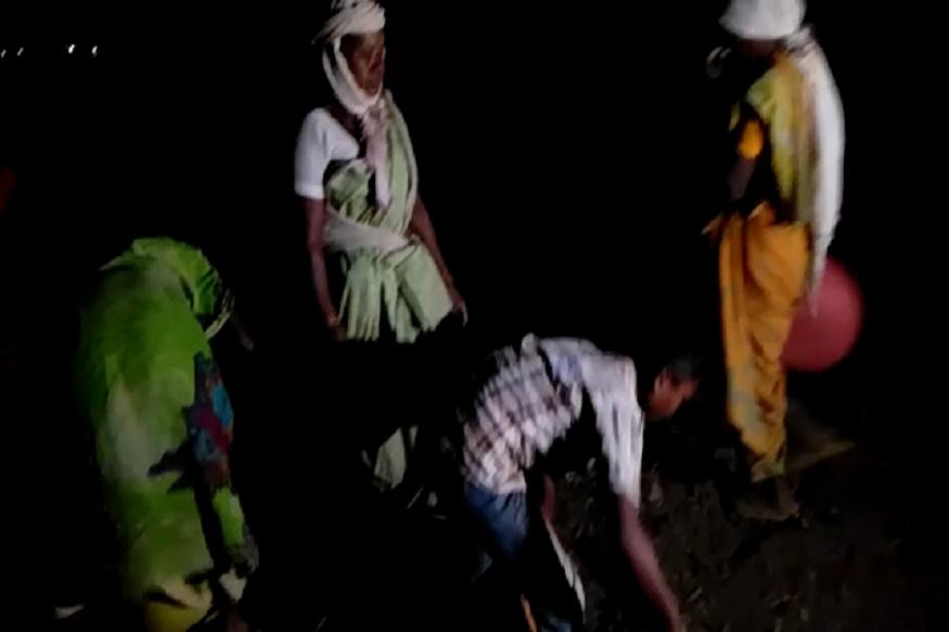 दुष्काळावर मात करण्यासाठी आलंय 'तुफान', गावकरी करताहेत रात्रीचा दिवस