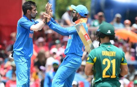 ICC Cricket World Cup स्पर्धेत भारताने पाकिस्तानविरुद्धचा सामना जिंकून गुणतक्त्यात तिसऱ्या स्थानी झेप घेतली. भारताने चारपैकी तीन सामने जिंकले तर एक सामना पावसामुळे रद्द झाला.