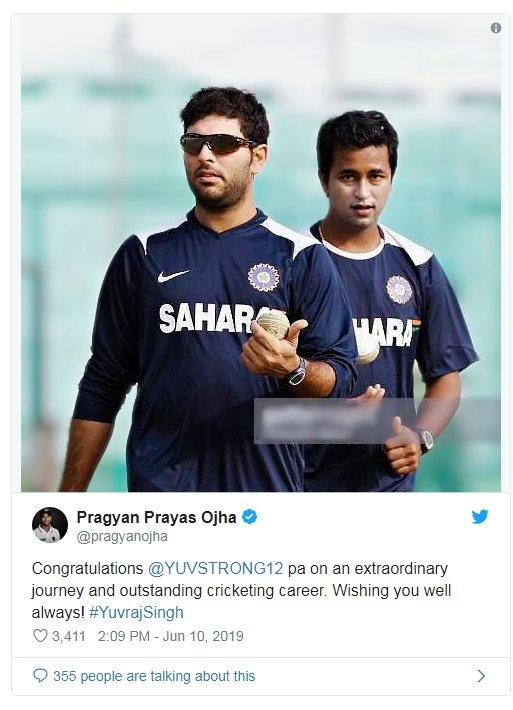 युवराज सिंगने शेवटचा एकदिवसीय सामना 2017 मध्ये खेळला होता. त्यानंतर 2012 मध्ये कसोटी सामना खेळला होता. निवृत्ती जाहीर केल्यानंतर ट्विटरवर युवराज ट्रेंडमध्ये आला आहे.