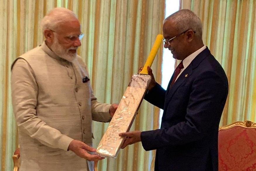 बीसीसीआयच्या एका समितीने काही दिवसांपूर्वी मालदीवचा दौरा केला होता. माजी परराष्ट्र मंत्री सुषमा स्वराज यांच्या मालदीव दौऱ्यावेळी देशातील क्रिकेटला प्रोत्साहन मिळावं अशी विनंती तिथल्या क्रिडा मंत्र्यांकडून करण्यात आली होती.