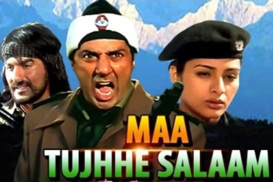 मां तुझे सलाम (2002)- दूध मांगोगे तो खीर देंगे कश्मीर मांगोगे तो चीर देंगे।