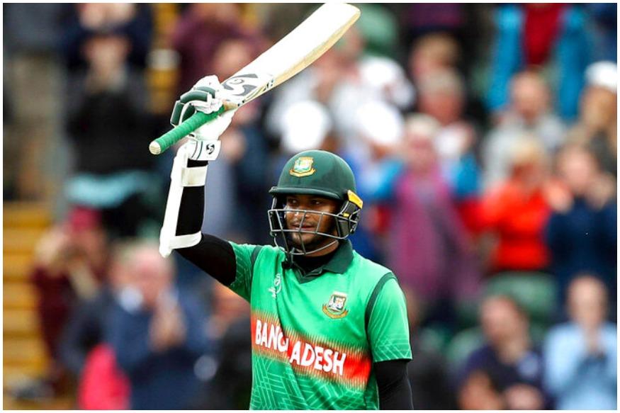 ICC Cricket World Cup 2019ची बांगलादेश विरुद्ध वेस्ट इंडिज हा सामना रोमांचक ठरला. या सामन्यात पुन्हा एकदा बांगलादेशचा संघ जायंट किलर ठरला, त्यांनी वेस्ट इंडिजला 7 विकेटने पराभूत केले. वेस्ट इंडिजने उभारलेला 321 धावांचा डोंगर 51 चेंडू शिल्लक ठेवत बांगलादेशने सर केला. बांगलादेशसाठी शाकीब अल हसनने नाबाद 124 धावा केल्या. त्याला साथ देत लिट्टन दासने नाबाद 94 धावा केल्या. या सामन्यात अनेक विक्रम तोडले गेले. टाकूया त्यावर एक नजर