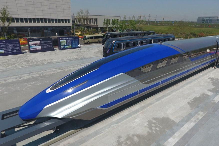 चीनने 600 किमी प्रतितास वेगाने धावणारी मॅग्नेटिक लेव्हिएशन (मॅग्लेव्ह) ट्रेन बनवली आहे. लोकोमोटिव्ह कंपनी 'सीआरसीसी सिफांग कॉर्प' या कंपनीने या ट्रेनचं प्रोटोटाईप डिझाईन बनवलं आहे.