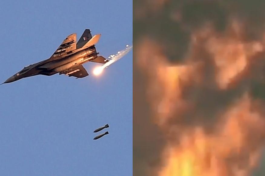 VIDEO लढाऊ विमानाला पक्षाची धडक, धाडसी पायलटने असं उतरवलं विमान