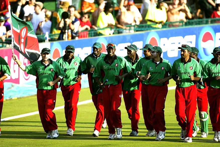 2003च्या वर्ल्ड कपमध्ये पुन्हा एकदा केनिया संघाने आपले वर्चस्व दाखवले. यावेळी केनिया संघाने श्रीलंकेची शिकार केली. केनियाने दिलेल्या 211 धावांचे आव्हान श्रीलंकेला पेलावले, परिणामी केनियाने तब्बल 53 धावांनी हा सामना जिंकला.