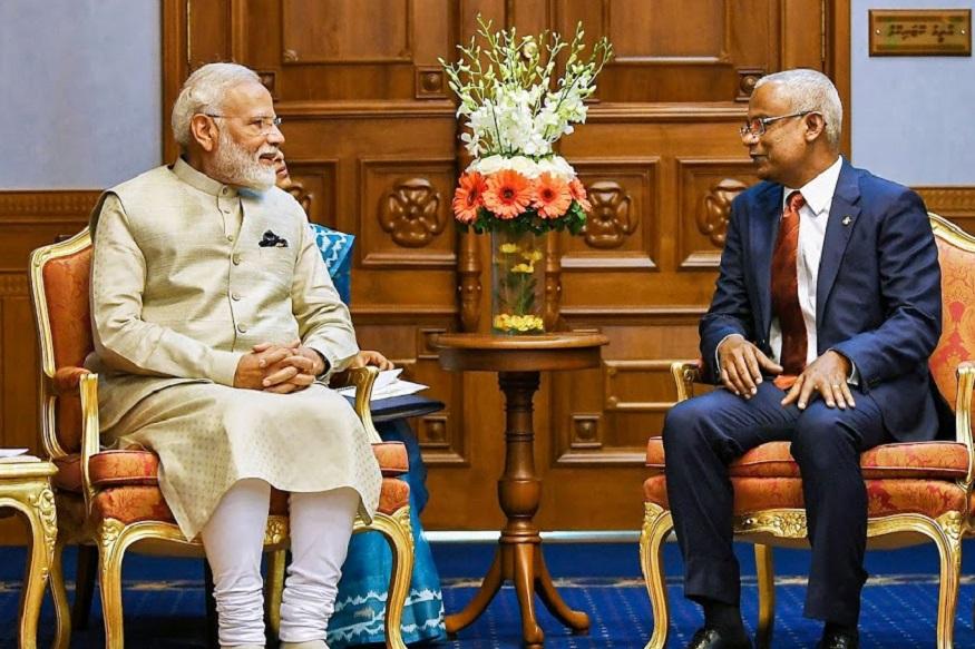 पंतप्रधान मोदींनी मालदीवच्या राष्ट्राध्यक्षांना दिली बॅट, 'हे' आहे खास कारण!