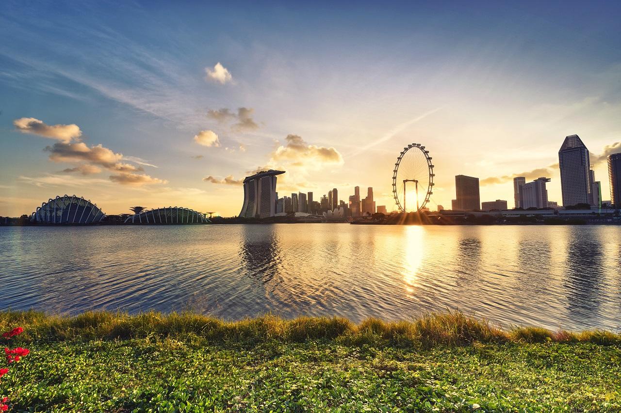 सिंगापॉर हे शहर तिसऱ्या स्थानावर आहे. बेट असलेलं हे शहर मागिल वर्षात चौथ्या क्रमांकावर होतं. (फोटो : Reuters)