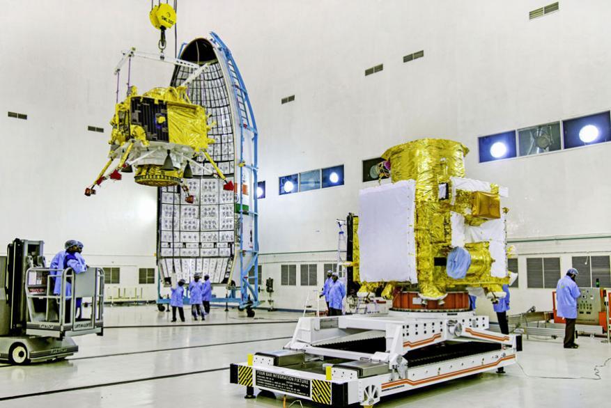 चांद्रयान - 2 चंद्राच्या दक्षिण ध्रुवावर उतरणार आहे. या यानात लँडर आणि रोव्हर हे दोन्ही असेल.