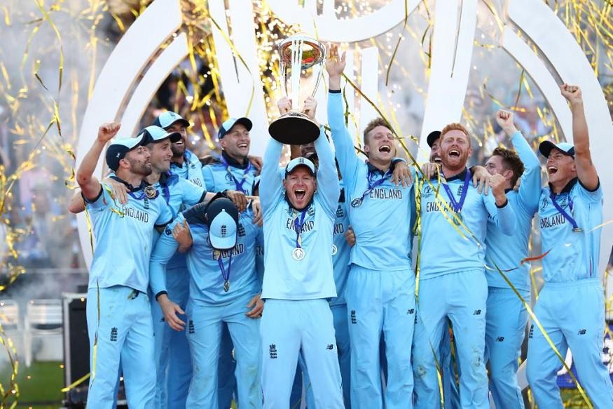 ICC Cricket World 2019चा अंतिम सामना लॉर्ड्सच्या मैदानावर पार पडला. इंग्लंड आणि न्यूझीलंड यांच्यात झालेला सामना रोमांचक ठरला. न्यूझीलंडला नशीबाची साथ मिळाली नाही त्यामुळं अखेर सुपरओव्हरमध्ये इंग्लंडनं सामना जिंकला.