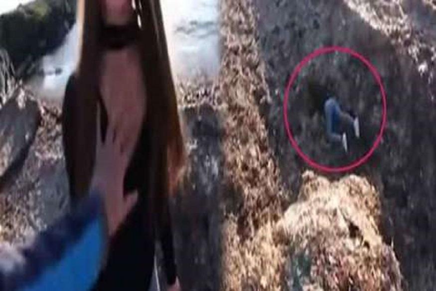 धक्कादायक : देवीच्या दर्शनाला आणलं आणि बायकोला दरीत ढकलून दिलं