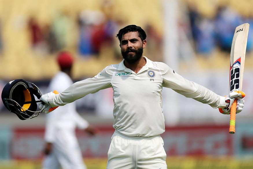 IND v WI 1st Test Day-2 : सर जडेजाची तुफान खेळी! टीम इंडिया 297 धावांवर ऑल आऊट