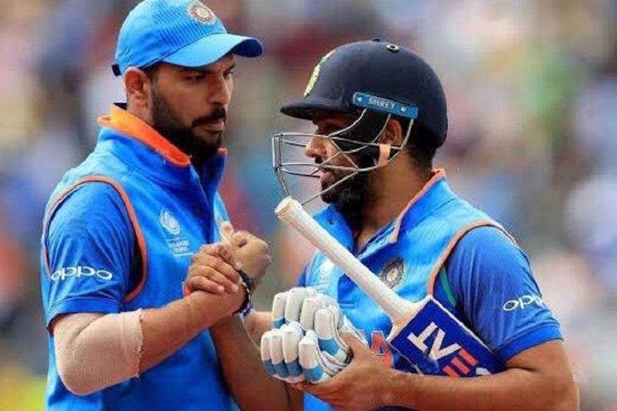 India vs West Indies : रोहितला खुणावतोय युवराजचा विक्रम! हव्यात फक्त 26 धावा