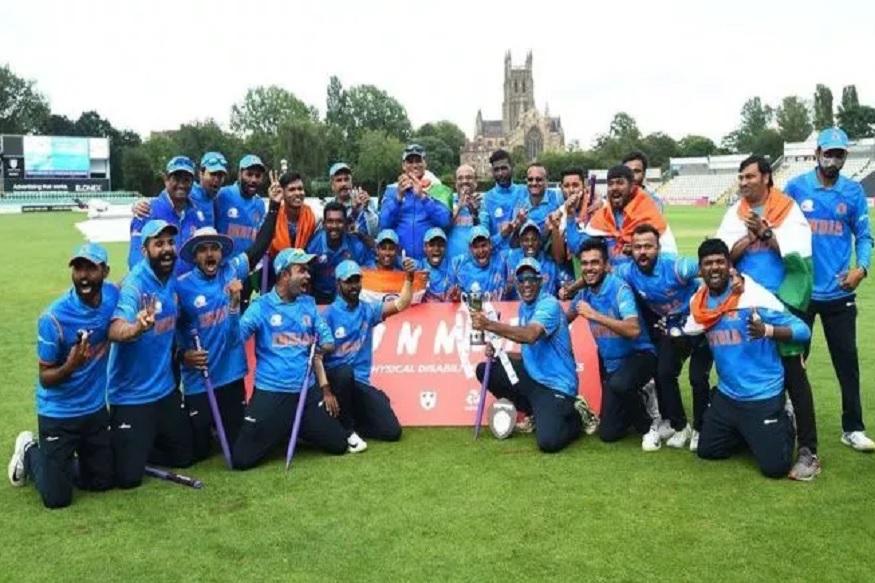 दिव्यांग क्रिकेट वर्ल्ड कप भारतानं जिंकला, यजमान इंग्लंडचा उडवला धुव्वा!