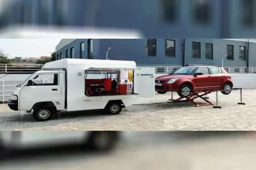 कंपनीनं दिली भन्नाट सर्व्हिस, कार बंद पडेल तिथंच होणार दुरुस्त!