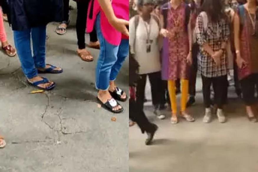 तालिबानी फतवा! कपड्यांची उंची मोजूनच विद्यार्थिनींना दिला जातो कॉलेज प्रवेश, VIDEO VIRAL