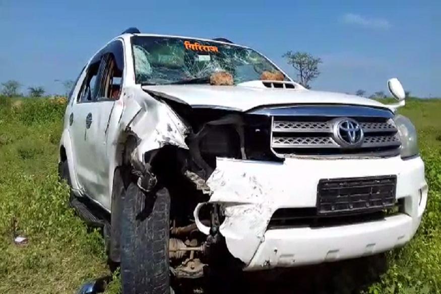 BREAKING: जलसंधारण मंत्र्यांच्या गाडीने तरुणाला चिरडलं, जागीच मृत्यू