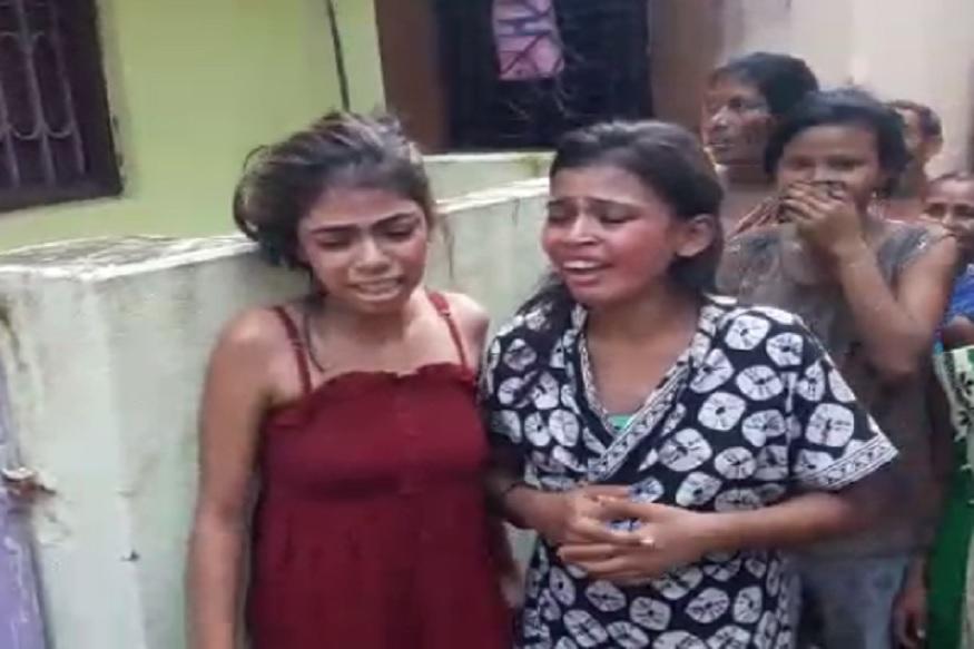 बहिणींनी आईची हत्या करून मृतदेह फेकला तलावात, गावकऱ्यांनी दिला चोप
