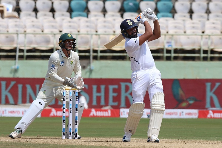 India vs South Africa 2nd test : सेहवागचा सर्वात मोठा विक्रम मोडण्यासाठी रोहित शर्मा फक्त एक पाऊल दूर