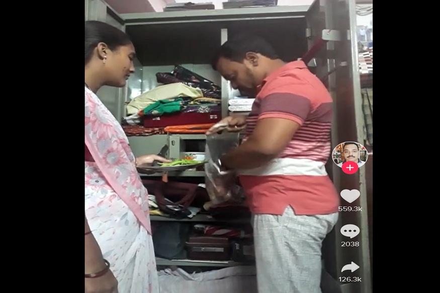 चक्क पैशांऐवजी तरुणावर आली कांदा लॉकरमध्ये ठेवण्याची वेळ, VIDEO VIRAL