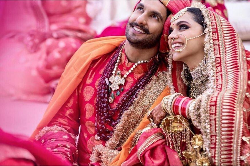 दीपिका-रणवीरनं साजरा केला लग्नाचा पहिला वाढदिवस, पाहा PHOTO