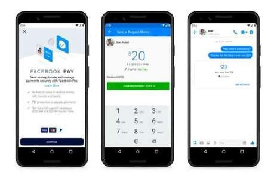Facebook Pay : WhatsApp, Messenger आणि Instagram ने करता येणार पेमेंट