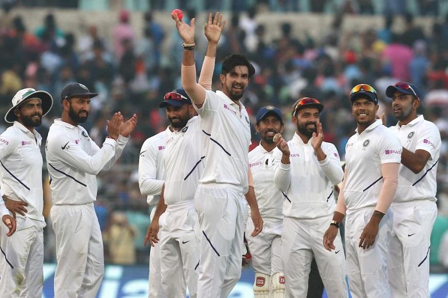 India vs Bangladesh : इशांत शर्मानं 12 वर्षांनंतर मारला 'पंजा', ऐतिहासिक सामन्यात रेकॉर्डब्रेक कामगिरी