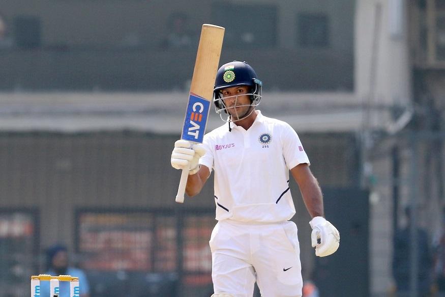 India vs Bangladesh : इंदूरमध्ये मयंक अग्रवालचं वादळ! षटकार खेचून पूर्ण केलं द्विशतक