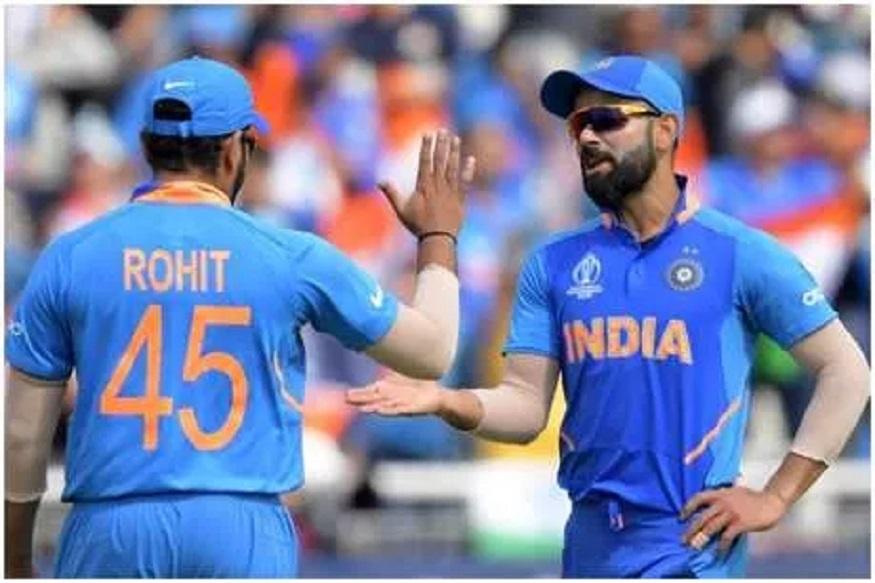 ICC ODI Ranking: रोहित शर्मा सुसाट, कर्णधार कोहलीचा 'ताज' येणार धोक्यात!