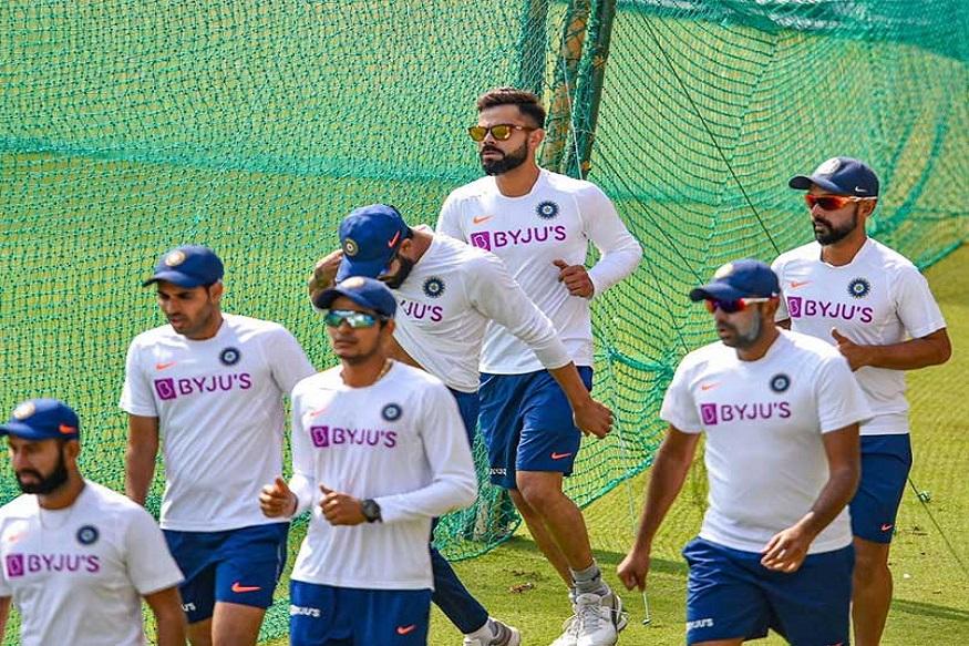 टीम इंडियाचे 'गुलाबी' दिवस! खेळाडूंनी त्याच्यासोबत केला सराव, पाहा VIDEO