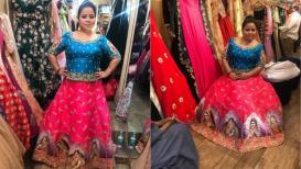 हा पहा काॅमेडी क्वीन भारतीच्या लग्नाचा पोशाख!