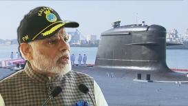 आयएनएस कलवरी नौदलाच्या सेवेत दाखल