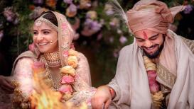 विराट-अनुष्का विवाहबंधनात, 'विरानुष्का'ने केले फोटो शेअर