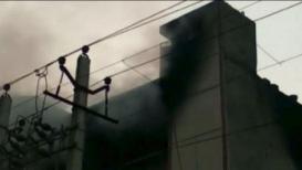 दिल्लीत बवाना इंडस्ट्रियल इस्टेटमध्ये भीषण आग, 10 जणांचा मृत्यू