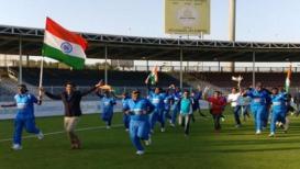 भारतानं पाकिस्तानचा धुव्वा उडवत पाचव्यांदा अंध क्रिकेट विश्वचषक पटकावला