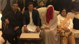 पाकिस्तानचा माजी क्रिकेटपटू इम्रान खान तिसऱ्यांदा लग्नाच्या बेडीत