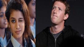 प्रिया वारियरमुळे मार्क झकरबर्ग इन्स्टाग्रामवर पडला मागे!