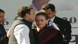 आक्रमक राहुल आणि सोनियांच्या चेहेऱ्यावरचे बदलणारे भाव !