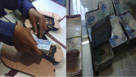 चप्पल आणि बॅगमध्ये विदेश चलन छुप्या मार्गानं नेणाऱ्या 19 वर्षाच्या युवकाला अटक