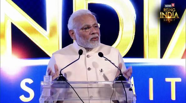#News18RisingIndia Summit- नरेंद्र मोदींचं संपूर्ण भाषण