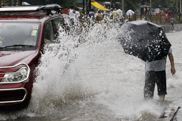 मुंबई, ठाणे, पालघर आणि रायगड जिल्ह्यात अतिवृष्टीचा इशारा