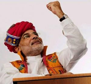 narendra modi journy