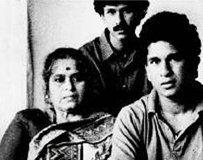 sachin and his mother