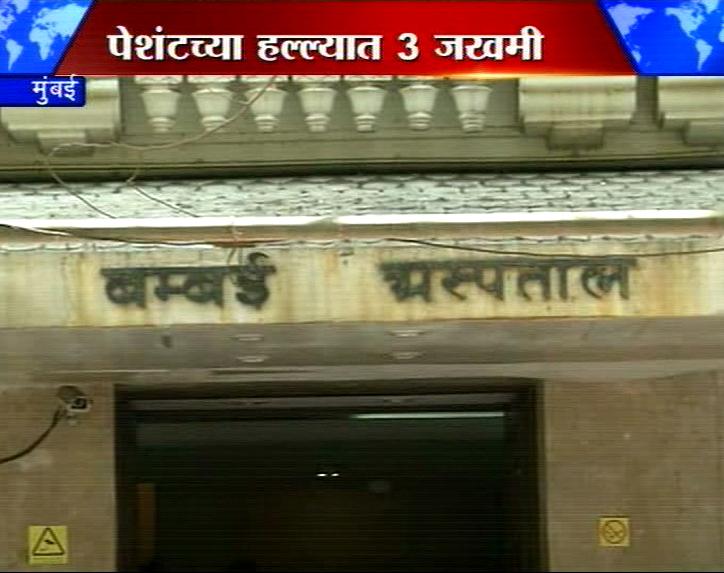 बॉम्बे हॉस्पिटलमध्ये रुग्णाच्या हल्ल्यात एकाचा मृत्यू