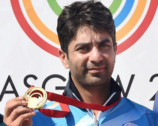Abhinav Bindra clinches gold