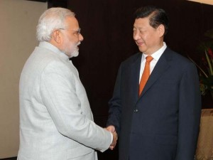 The PM Modi  met the Chinese President Mr. Xi Jinping in Fortaleza